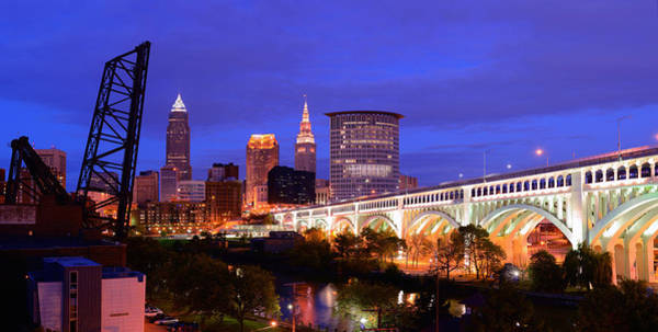 Photograph - Ultra Rez Clevelands Best View Panorama  by Clint Buhler