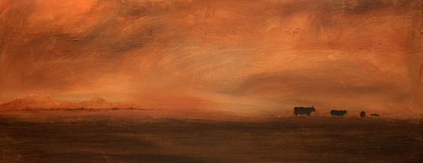 Painting - Umber Series #3 by William Renzulli