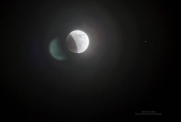Photograph - Umbra And The Moon By Denise Dube by Denise Dube