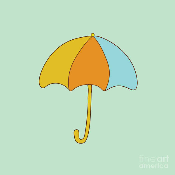 Transparent Wall Art - Digital Art - Umbrella by Paduk