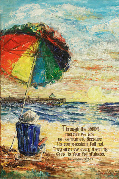 Umbrella Sunrise Lamentations 2 Art Print