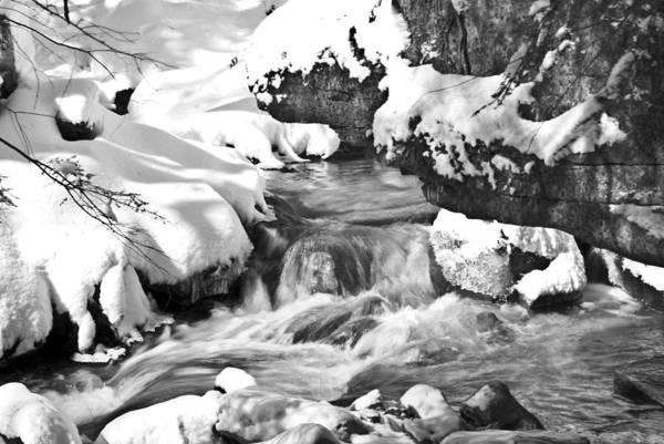 Photograph - Un-named Stream Win 69 by G L Sarti