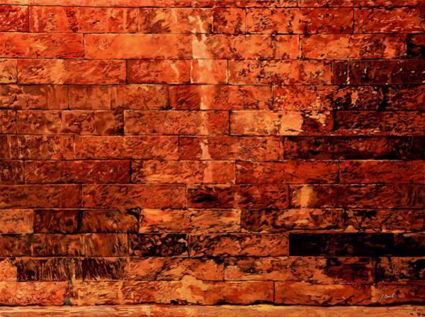 Brick Wall Art - Painting - Un Po' Per Ridere by Guido Borelli