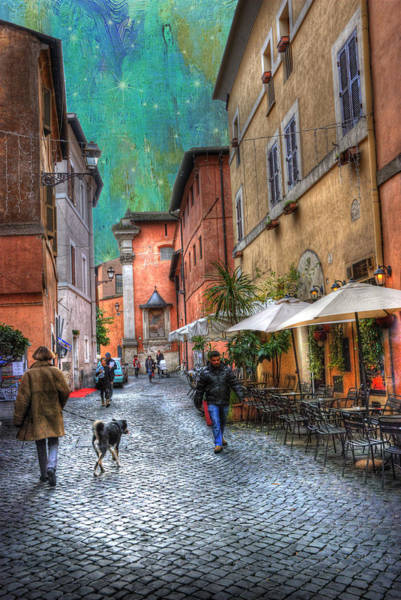 Photograph - Una Notta A Roma by Juli Scalzi
