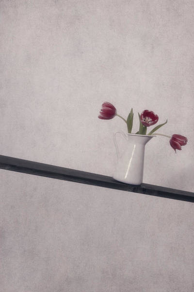 Vase Of Flowers Photograph - Unbalanced Flowers by Joana Kruse