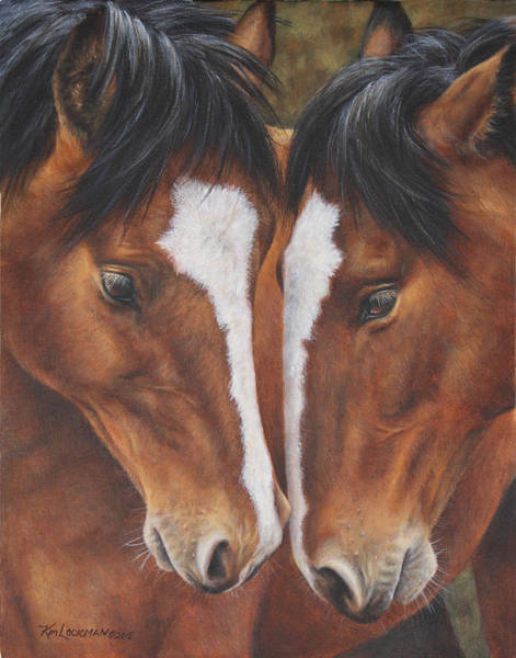 Painting - Unbridled Affection by Kim Lockman