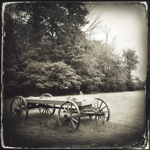Photograph - Uncle Robert's Wagon by Natasha Marco