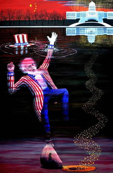 Uncle Sam 2012 - ? Art Print