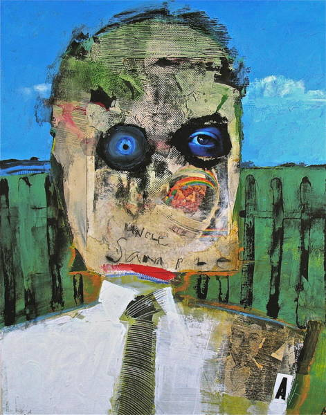 Painting - Uncle Sample Surrounded   by Cliff Spohn
