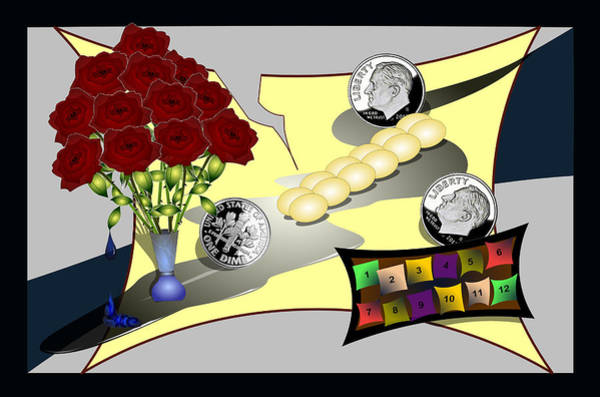 Digital Art - Dime A Dozen by Vincent Autenrieb