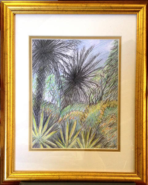 Drawing - Uncouth Jungle by Jean Pacheco Ravinski