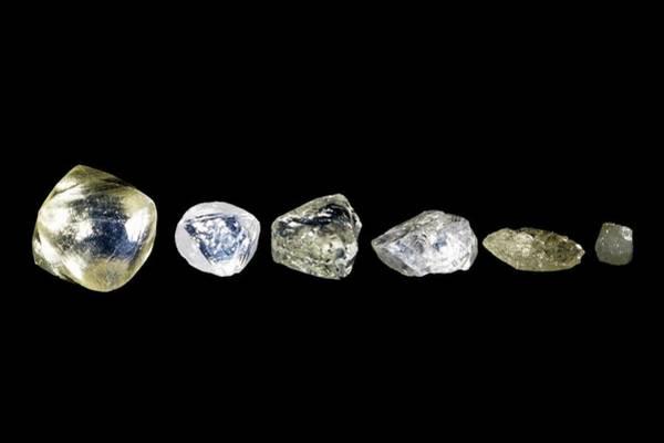 Uncut Photograph - Uncut Diamonds by Patrick Landmann
