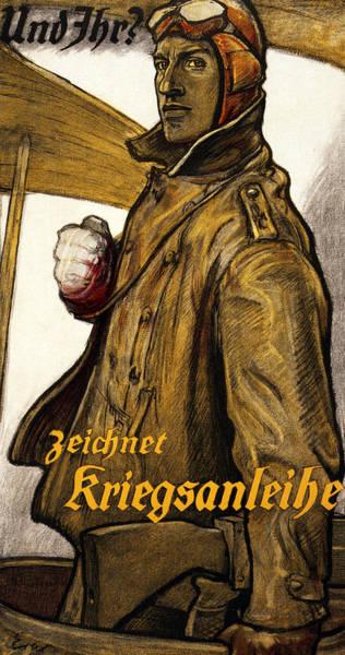 Recruitment Painting - Und Ihr by Fritz Erler