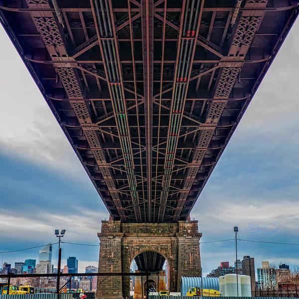 Photograph - Under 59th Street Bridge by S Paul Sahm