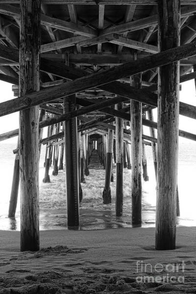 Photograph - Under Balboa Pier In Newport Beach by Ana V Ramirez