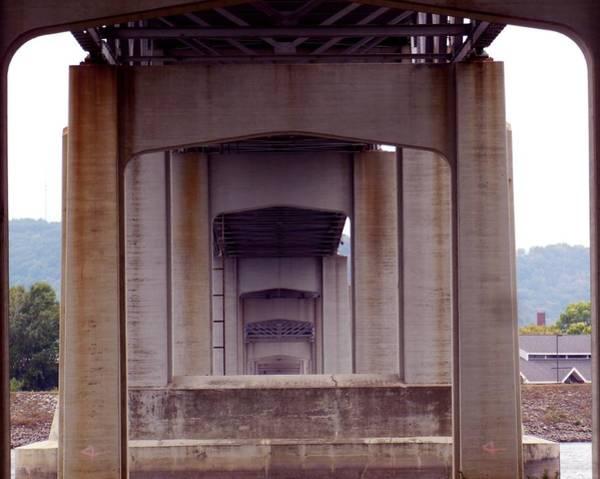 Photograph - Under Bridge by Wild Thing