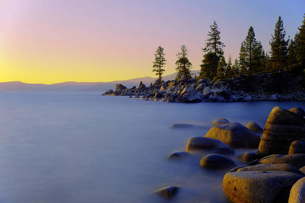 Lake Shore Wall Art - Photograph - Under Clear Skies by Chad Dutson