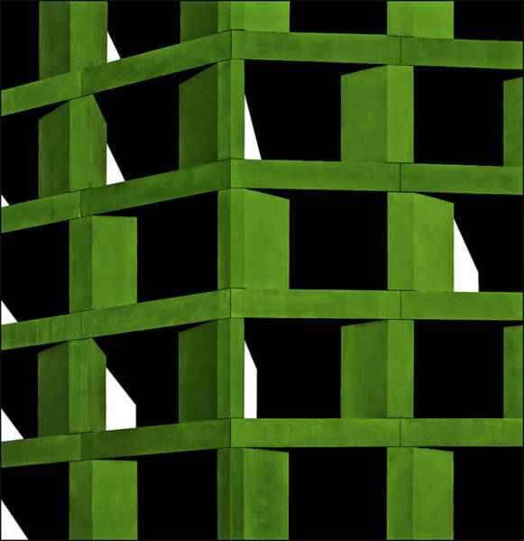 Cube Wall Art - Photograph - Under Construction by Gilbert Claes