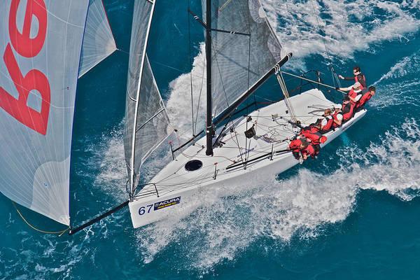 Photograph - Under Full Sail by Steven Lapkin