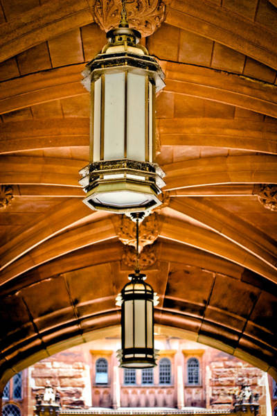 Wall Art - Photograph - Under The Arches - Princeton University by Colleen Kammerer