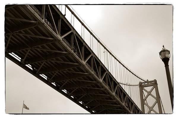 Photograph - Under The Bay Bridge by Michelle Calkins