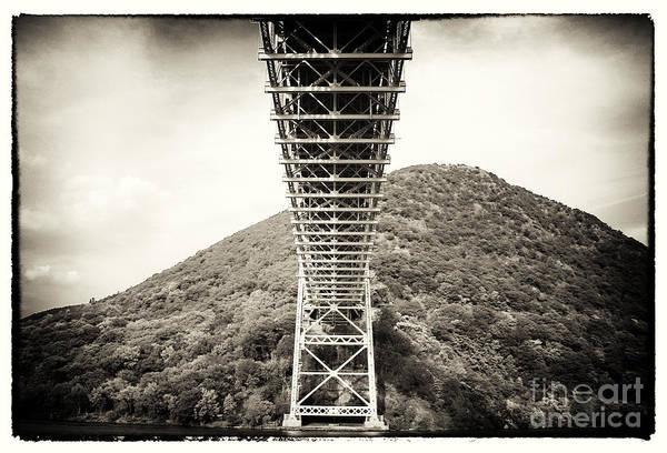 Photograph - Under The Bear Mountain Bridge by John Rizzuto