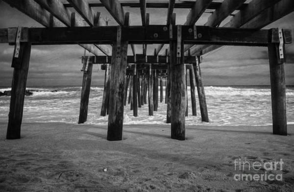 Photograph - Under The Boardwalk by Debra Fedchin