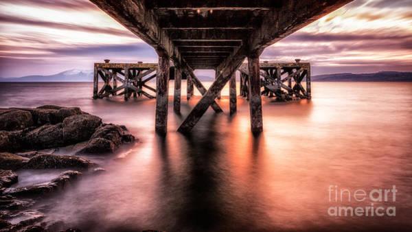 Ayrshire Photograph - Under The Boardwalk by John Farnan