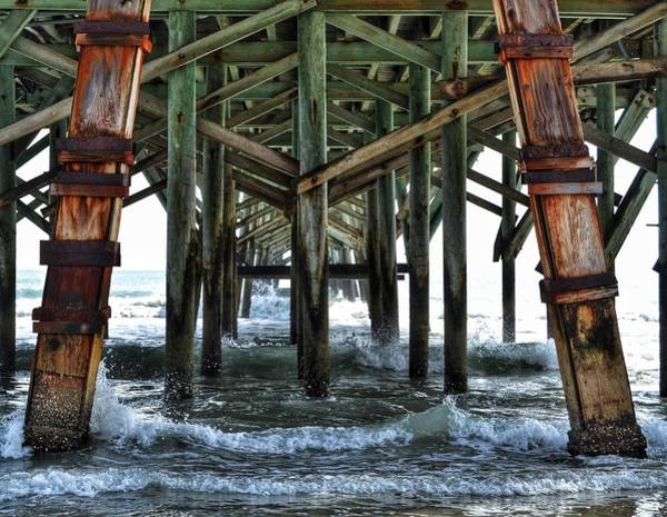 Photograph - Under The Boardwalk by Kathy McCabe
