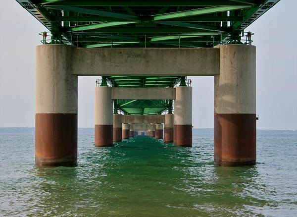 The Mac Wall Art - Photograph - Under The Bridge by Odd Jeppesen