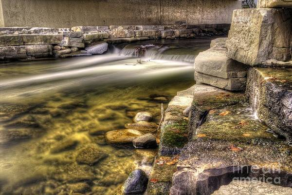 Rochester Photograph - Under The Bridge by Twenty Two North Photography