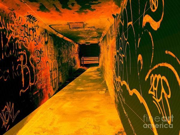 Blacklight Photograph - Under The Bridge by Ze DaLuz