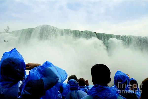 Photograph - Under The Falls by Brenda Kean