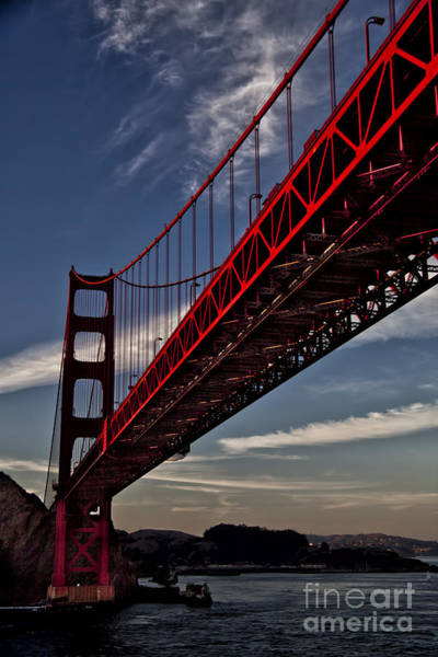 Shirleys Bay Photograph - Under The Golden Gate by Shirley Mangini