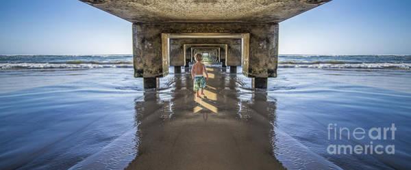 Photograph - Under The Hanalei Pier Kauai by Dustin K Ryan