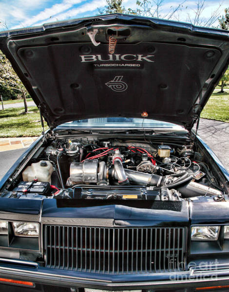 Wall Art - Photograph - Under The Hood Of A Buick Grand National by William Kuta