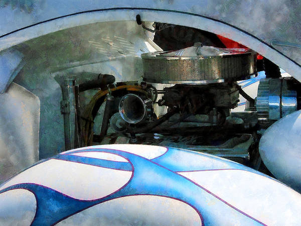 Photograph - Under The Hood by Susan Savad