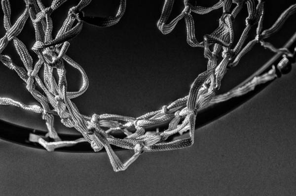 Hoop Photograph - Under The Hoop by Susan Capuano