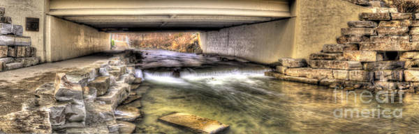 Rochester Photograph - Under The Paint Creek Bridge by Twenty Two North Photography