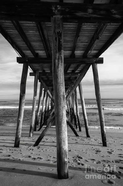 Photograph - Under The Pier by Debra Fedchin
