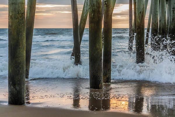 Photograph - Under The Pier by Karen Saunders
