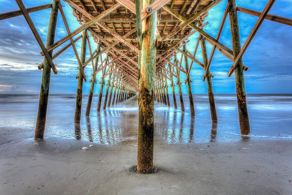 Photograph - Under The Pier by Keith Allen