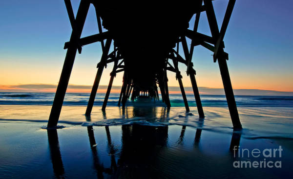Wall Art - Photograph - Under The Pier by Matthew Trudeau