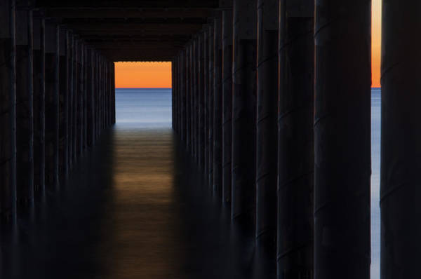 Photograph - Under The Pier by Steve Myrick