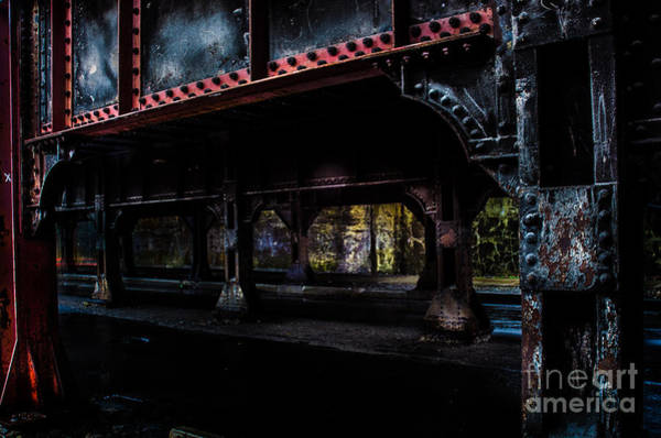 Photograph - Under The Rails by Michael Arend