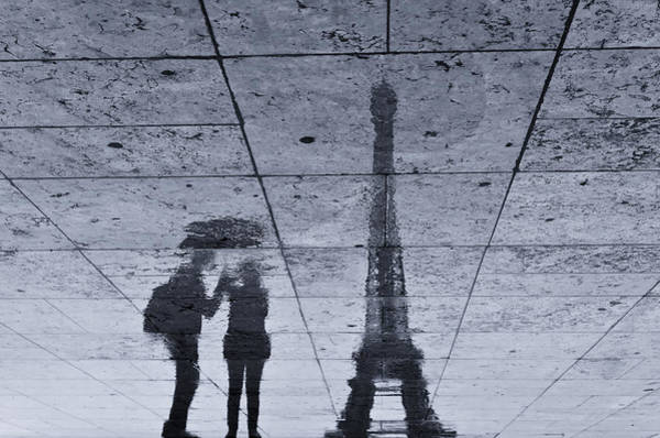 Famous Wall Art - Photograph - Under The Rain In Paris by