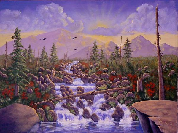 Painting - Under The Rainbow by Ray Nutaitis