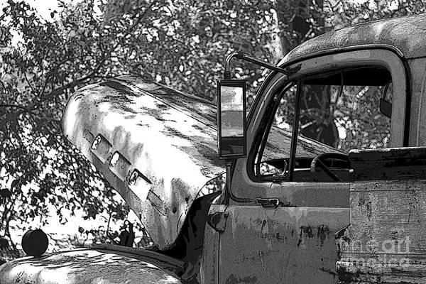 Junkers Digital Art - Under The Shade Tree by Joe Russell