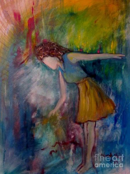 Painting - Under The Weight Of His Glory by Deborah Nell