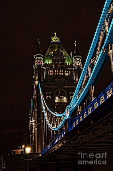 Stamford Bridge Wall Art - Photograph - Under Tower Bridge by Steev Stamford